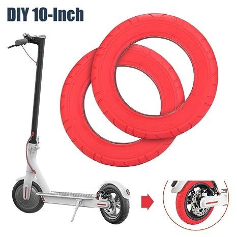 ABEDOE Neumático de Scooter Eléctrico de Repuesto de 10 ...