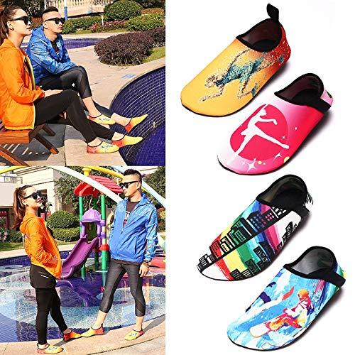 scarpe B calzini ad Water scarpa donne asciugatura rapida 28 Barefoot Summer Somorgan Kid yoga 29 Aqua C 1waYppCq