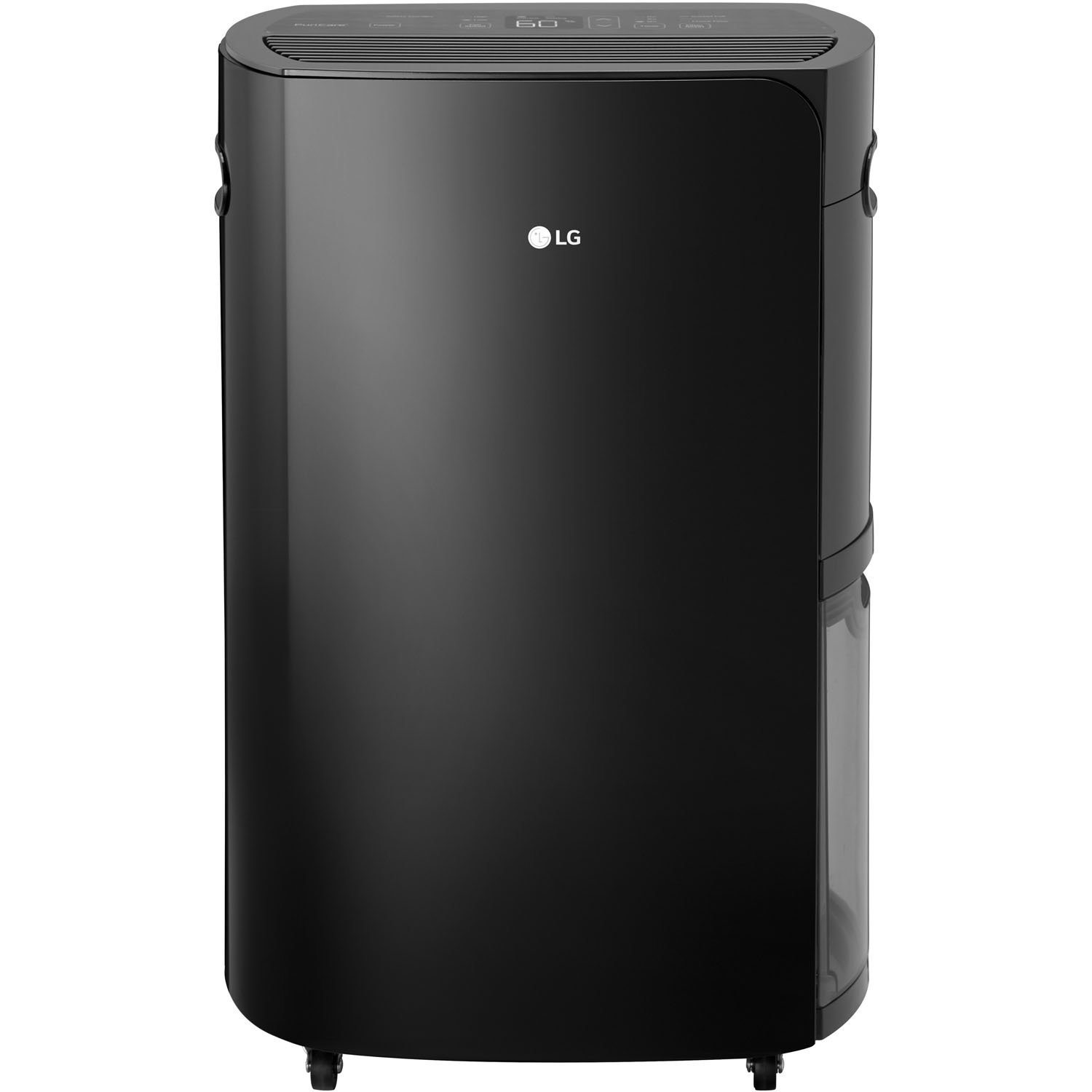 LG Energy Star PuriCare 55-Pint Dehumidifier in Black,