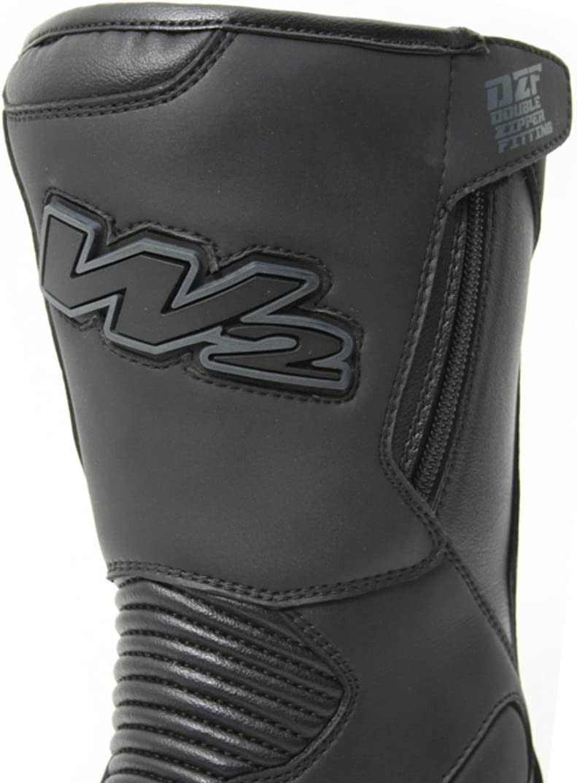 W2 DZF Motorradstiefel 39