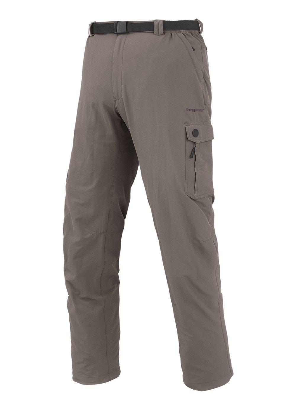 Marron (marron bungee) S Trangoworld Murren Pantalon Long, Homme