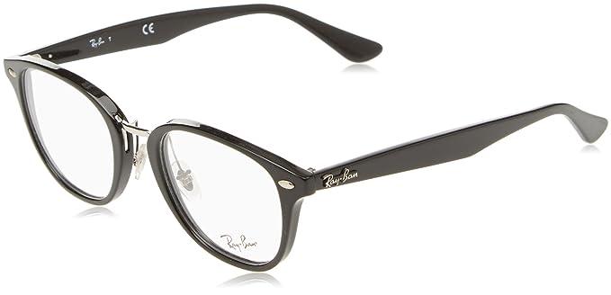 Ray-Ban RX5355 Gafas negro brillante RX5355 2000 50