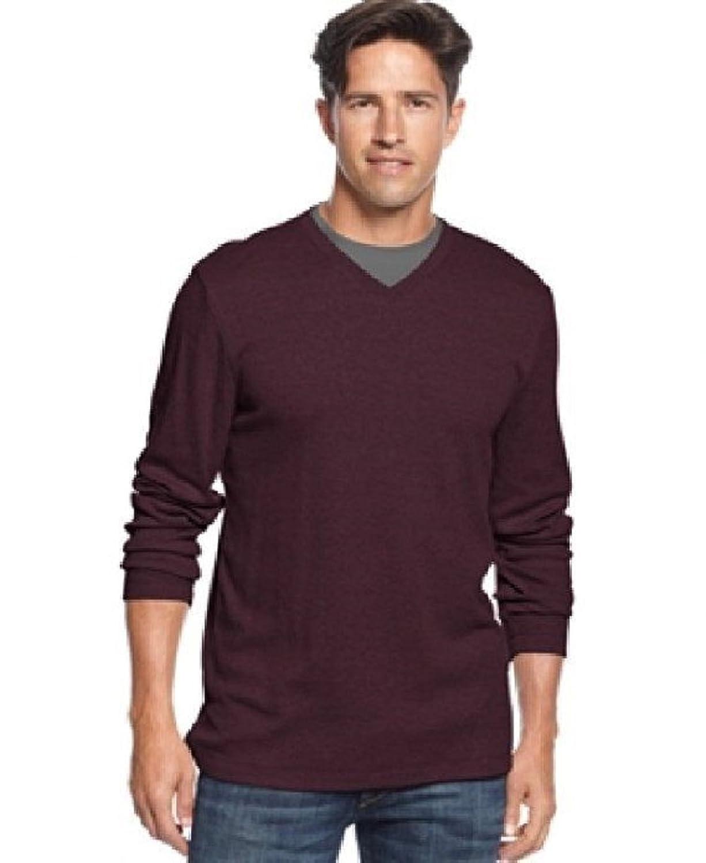 John Ashford Shirt, Ribbed V-Neck Shirt