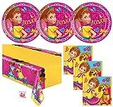 Fancy Nancy Birthday Party Supplies Set