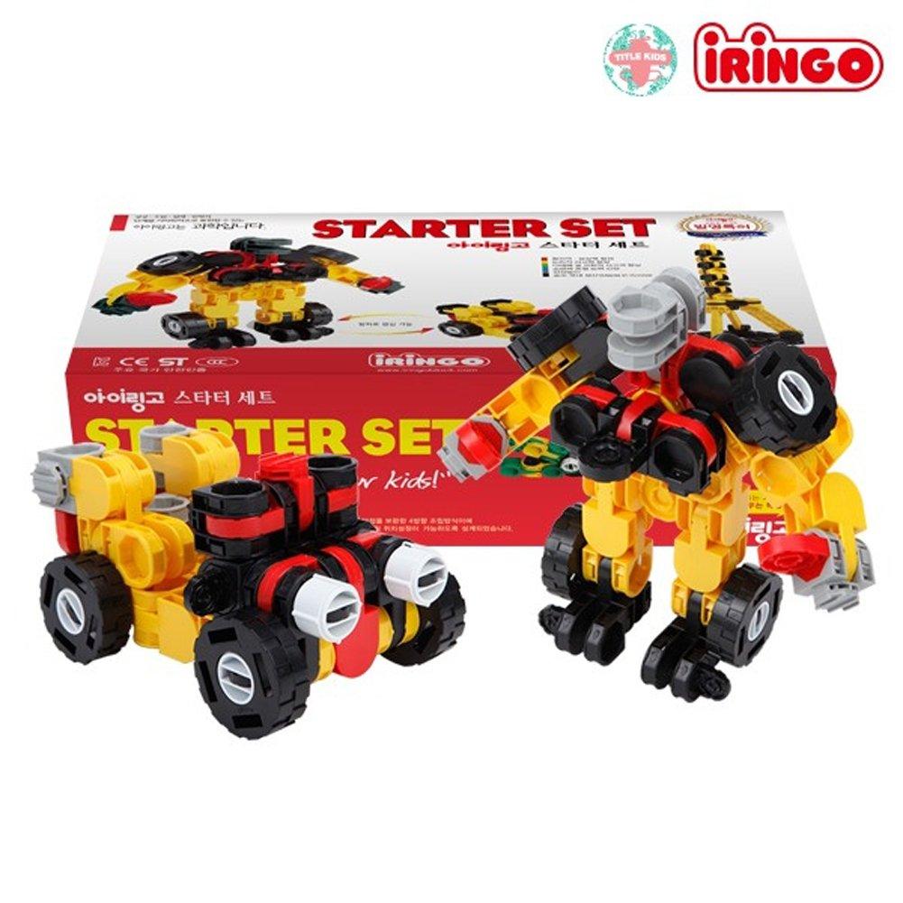 iRiNGO The starter Set 212pcs Transformable Kids Creativity IQ EQ Block Toy by iRiNGO The starter (Image #3)