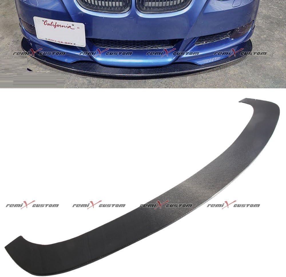 Universal 63.5 wide Carbon Fiber Front Body Kit Splitter Bumper Lip Spoiler