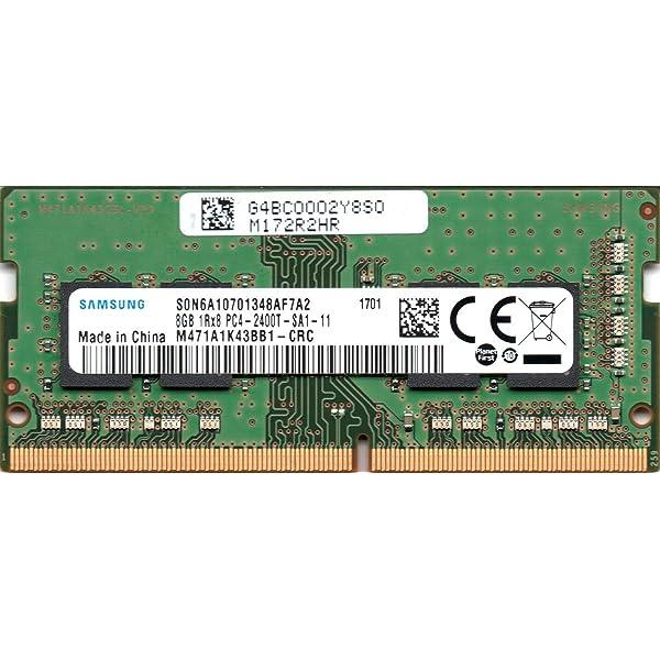Amazon.com: Samsung 8GB DDR4 PC4-19200, 2400MHz, 260 PIN ...