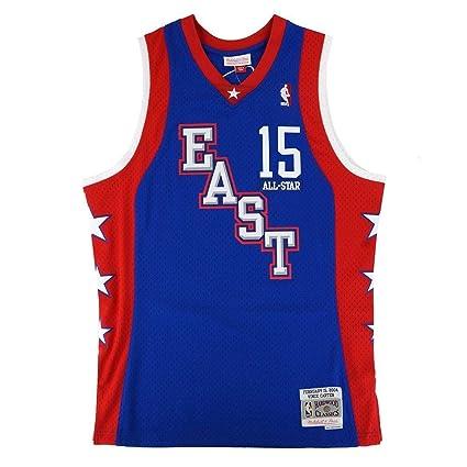 Vince Carter NBA Mitchell   Ness Blue 2004 NBA All Star East Jersey For Men  ( 0aca352e5