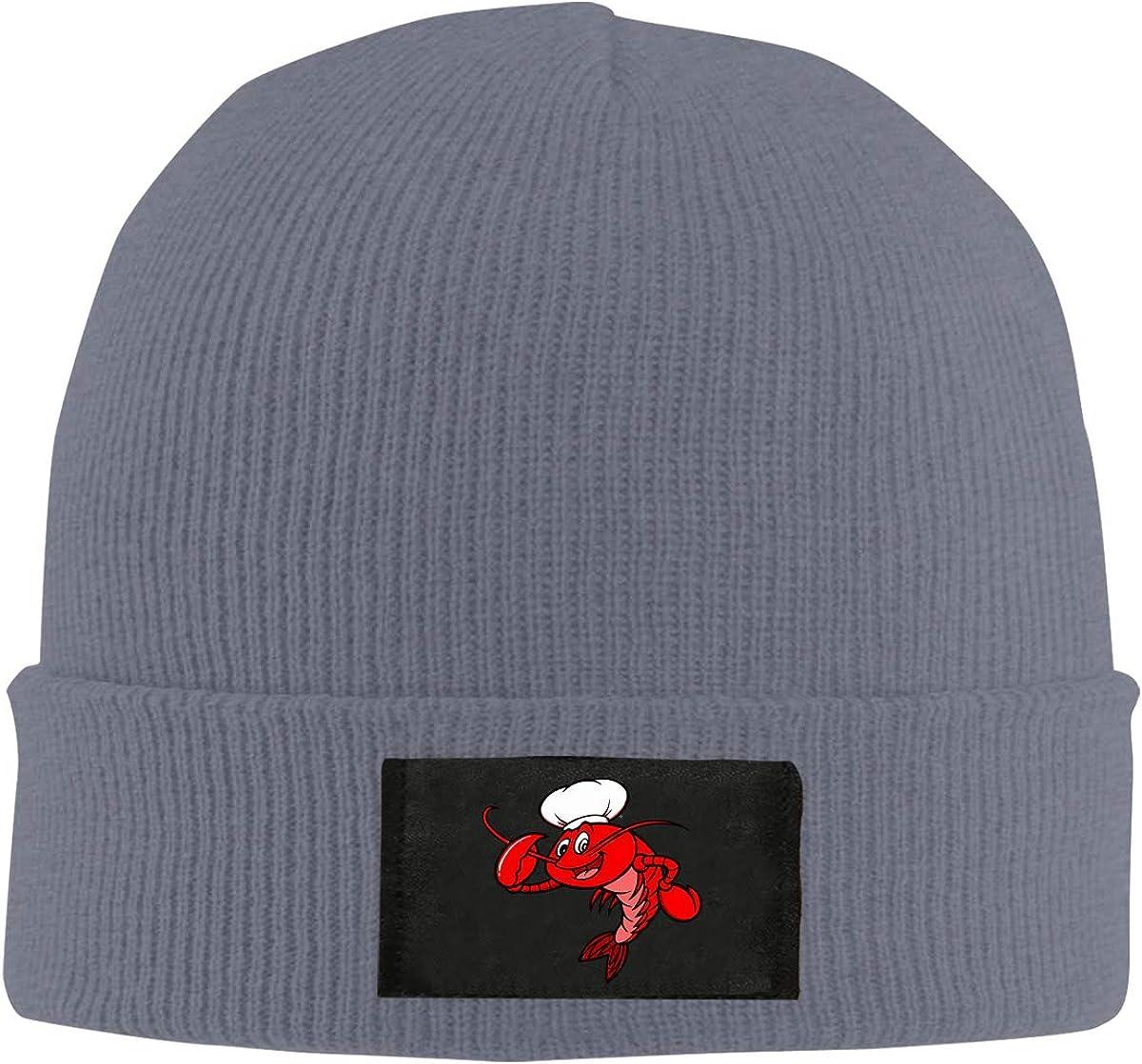 Crawfish Chef Unisex Knitted Hat Winter Warm Snowboarding Hat