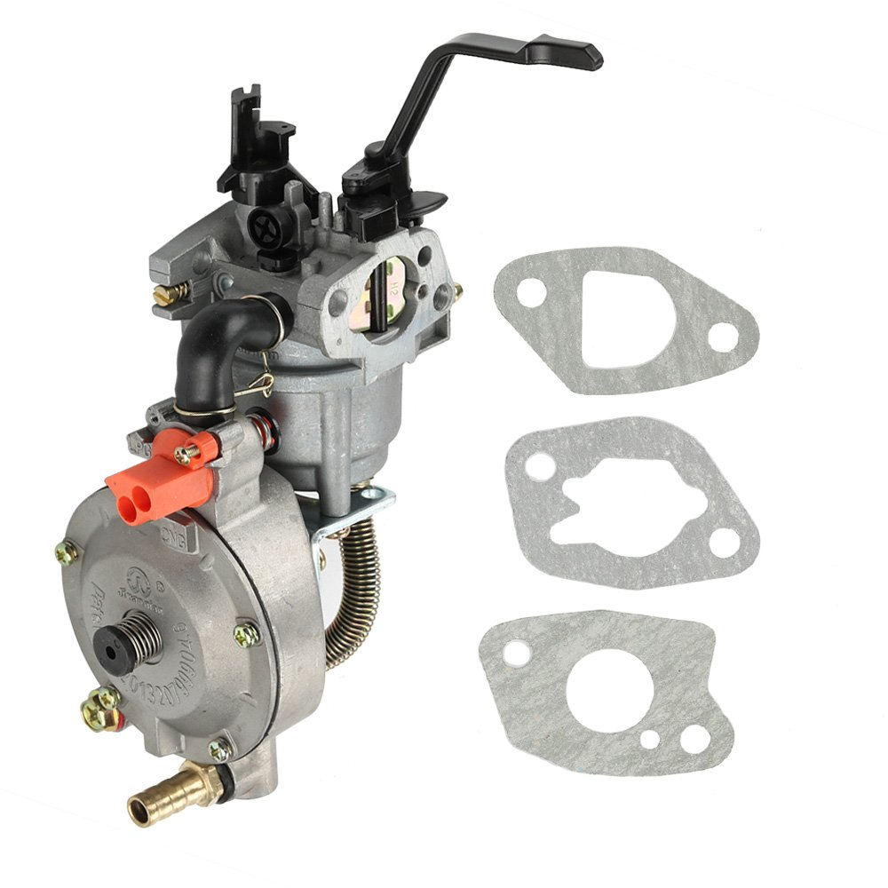 Amazon.com : Harbot Dual Fuel LPG NG Conversion Carburetor for 2KW GX160  168F Manual Choke Water Pump Engine : Garden & Outdoor