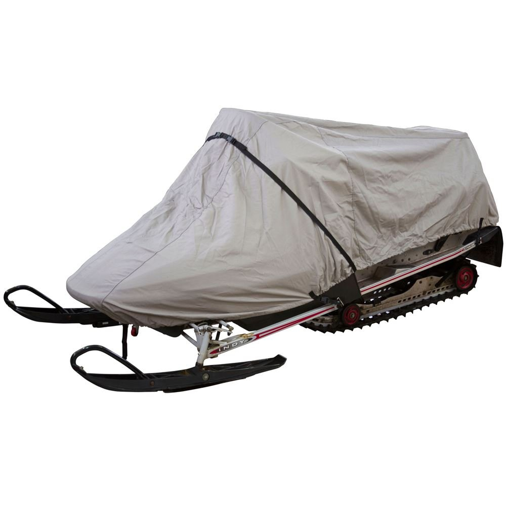 Rage Powersports 68121 Snowmobile Deluxe Small Cover - Gray