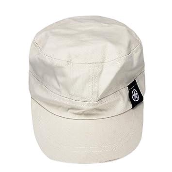 Gorras beisbol,Zarupeng Sombrero militar de techo plano unisex de moda Gorra de campo de béisbol de cadete patrulla (Gris): Amazon.es: Deportes y aire libre