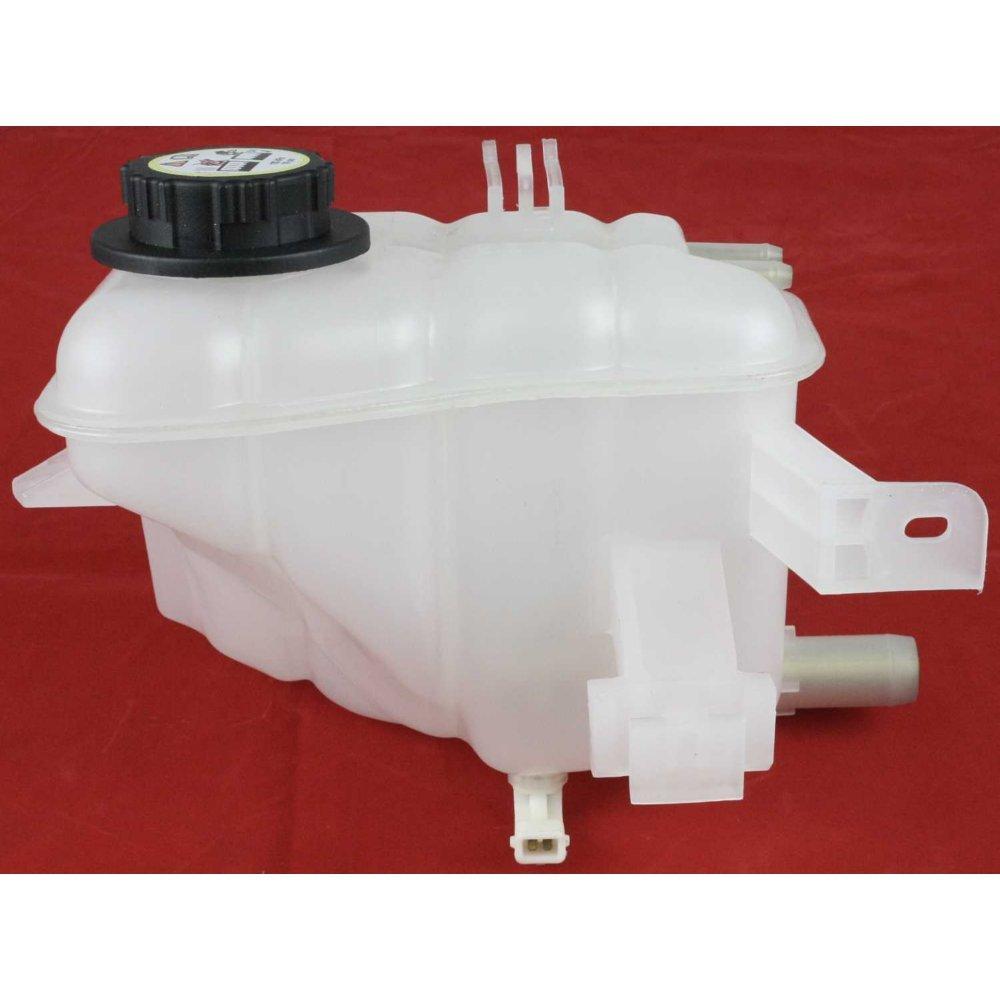 Evan-Fischer EVA11872043943 New Direct Fit Coolant Reservoir Expansion Tank for Sable Taurus 96-05 Dohc Eng. W/Cap W/Low Fluid Sensor Plastic