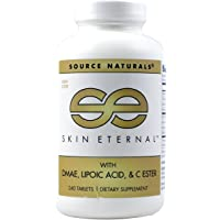 SOURCE NATURALS Skin Eternal Tablet, 240 Count
