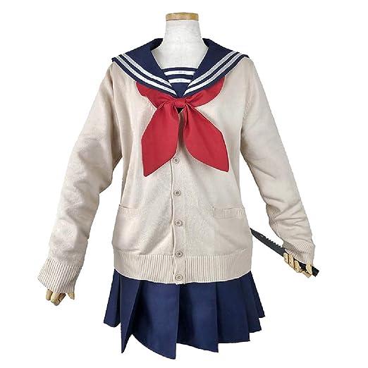YKJ Anime Cosplay Disfraz Mujer Diario Campus JK Uniforme Traje de ...