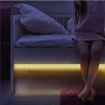 Motion Sensor Light   Flexible Bright LED Strip Bed Night Lights   39 inch    Light. Motion Sensor Light   Flexible Bright LED Strip Bed Night Lights
