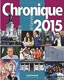 Chronique de l'année 2015