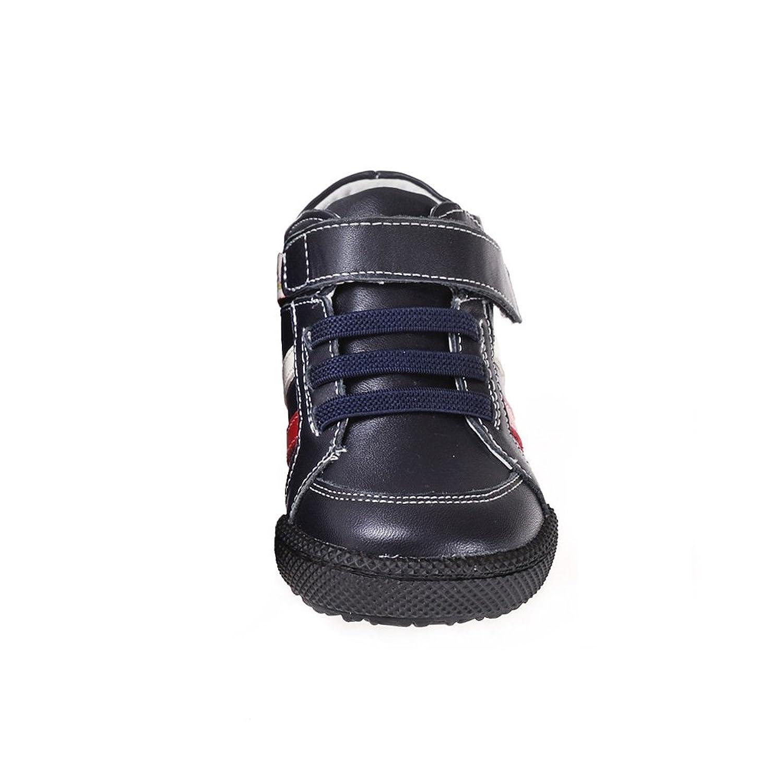 HLT Toddler/Little Kid Double Stripe Anti-shock Outsole Navy Sport/Uniform  Low Boot [US 5 / EU 21]: Amazon.ca: Shoes & Handbags