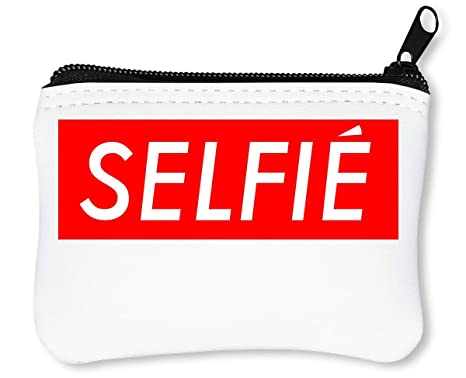 Selfie Instagram Tumblr Billetera con Cremallera Monedero ...