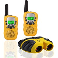 "JRD&BS WINL Kids Walkie Talkies and Binoculars for Kids-""Vox Box"" Best Gift for Kids,1Set"