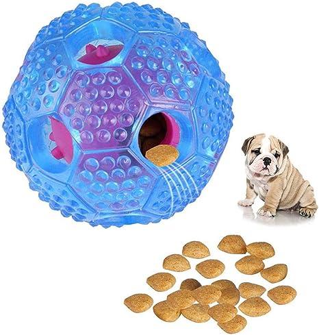 AUOKER IQ Juguete de bola para perro, duradero interactivo ...