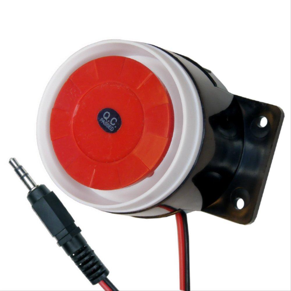 Deutschland Piezo-Sirene 12V 120dB Signalgeber Alarmsirene Alarmmelder Job-Elektronik