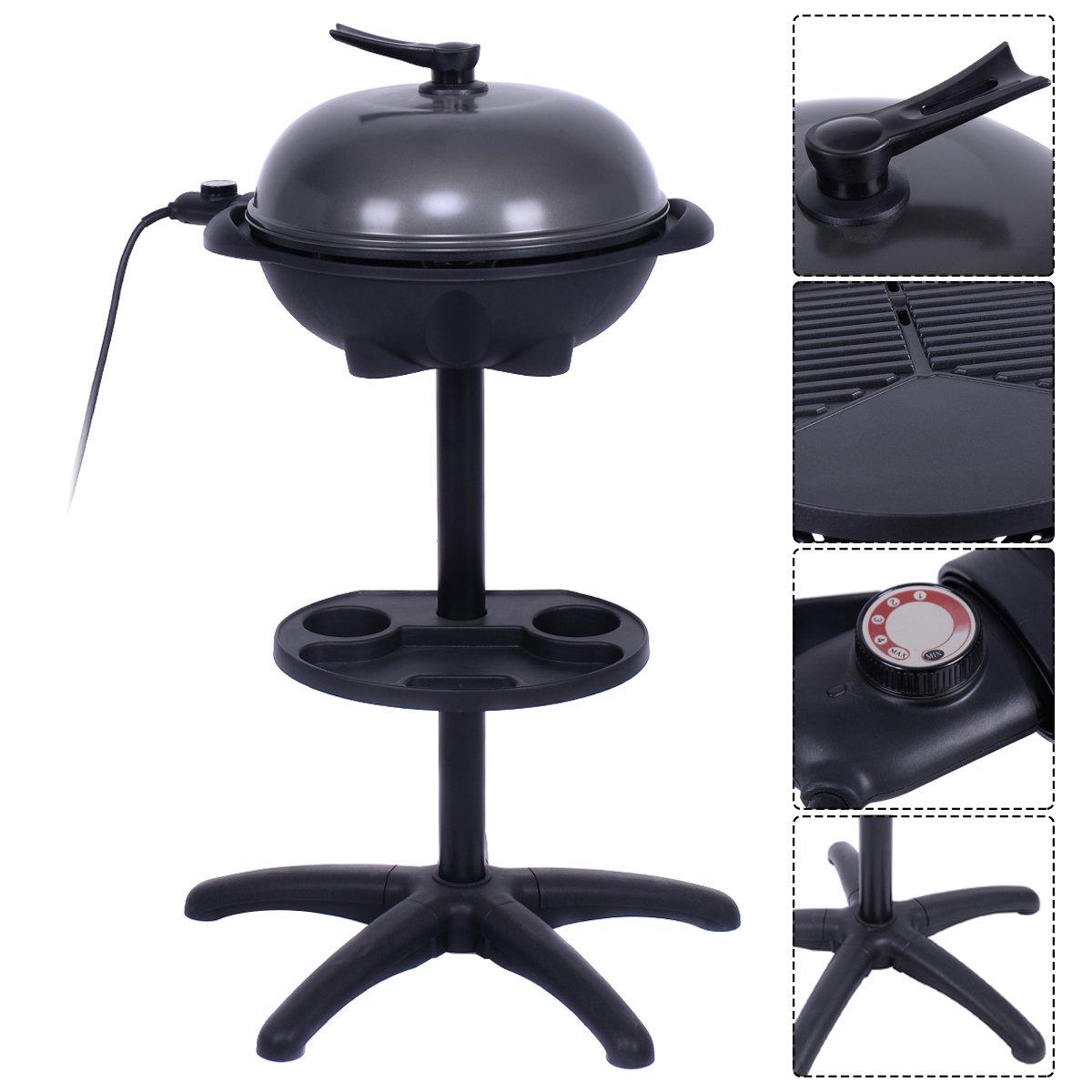 COSTWAY 1350W Indoor/Outdoor Electric BBQ Grill, Black by COSTWAY (Image #2)