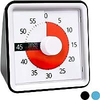 TWENTY5 SEVEN Countdown Timer 3 inch; 60 Minute 1 Hour Visual Timer - Classroom Teaching Tool Office Meeting, Countdown…