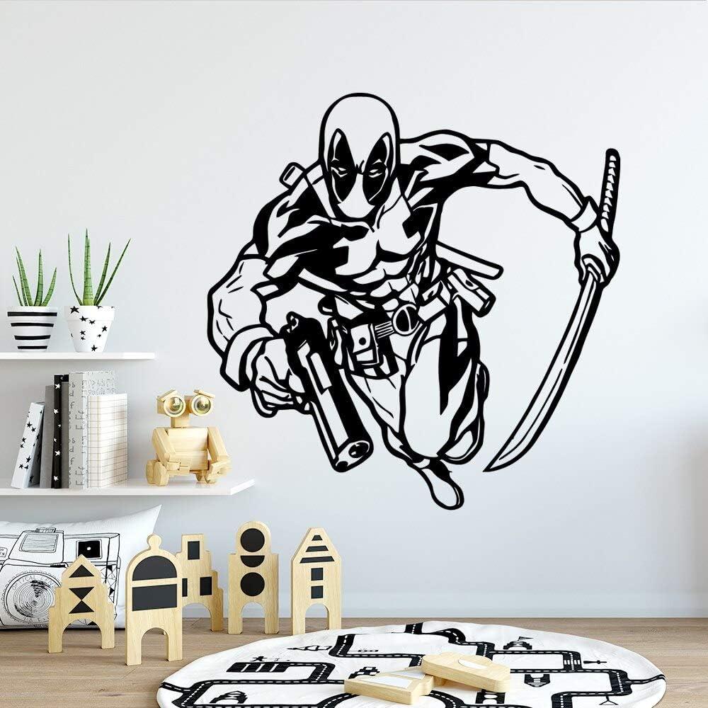 wZUN Moda Hombre Pegatinas de Pared extraíble Pegatinas de Pared Papel Tapiz Sala de Estar Empresa Escuela Oficina decoración Mural 33X33cm