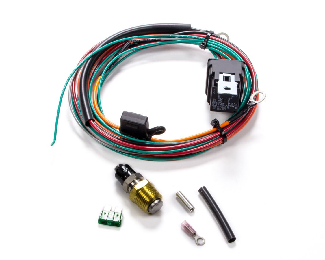 Be Cool 75021 Electric Fan Wiring Harness Kit w//Sending Unit