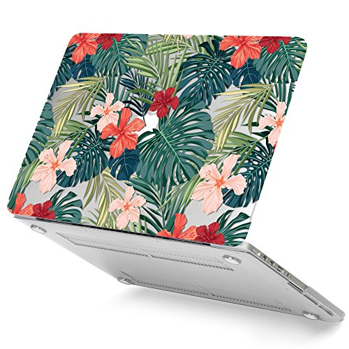 GMYLE Plastic MacBook Display Tropical