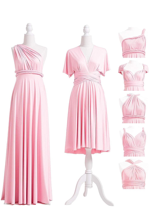 bb853dd1f402f Infinity Dress With Bandeau, Convertible Dress, Bridesmaid Dress,  LONG,SHORT, PLUS SIZE, Multi-way Dress, Twist Wrap Dress