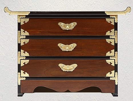 Amazon.com: Live - Mesa auxiliar de madera para sofá con ...