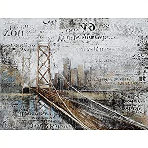 Yosemite Home Decor DCA1224A Across The Bridge Multi