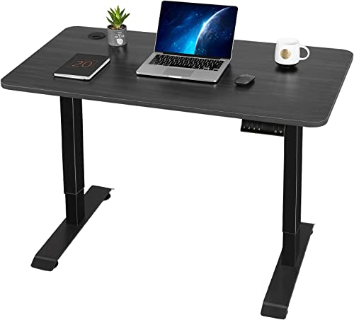 Furmax Electric Standing Desk Height Adjustable Desk Sit Stand Home Office Desk Ergonomic Computer Workstation