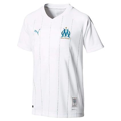 wholesale dealer ea7df 8ac2f Amazon.com : PUMA 2019-2020 Olympique Marseille Home ...