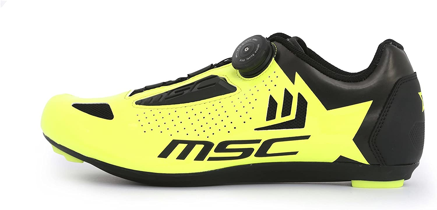 Unisex Adulto MSC Bikes Aero Road Zapatillas