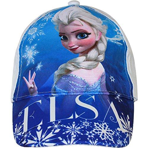 Casquette Frozen reine des neiges Elsa blanche 54 cm