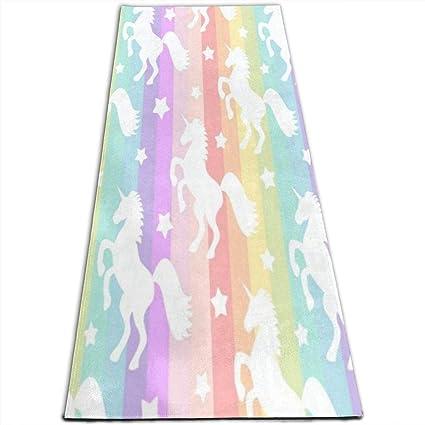 Amazon.com: IPOXK - Esterilla de yoga con bolsa de malla ...