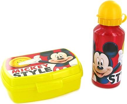 Set Lunch Box niño Niña y niño caja merienda y botella motf Disney elegir: Amazon.es: Juguetes y juegos