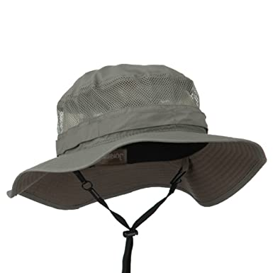 84af92287798a0 UV 50+ Side Mesh Talson Bucket Hat - Gull S-M at Amazon Men's ...