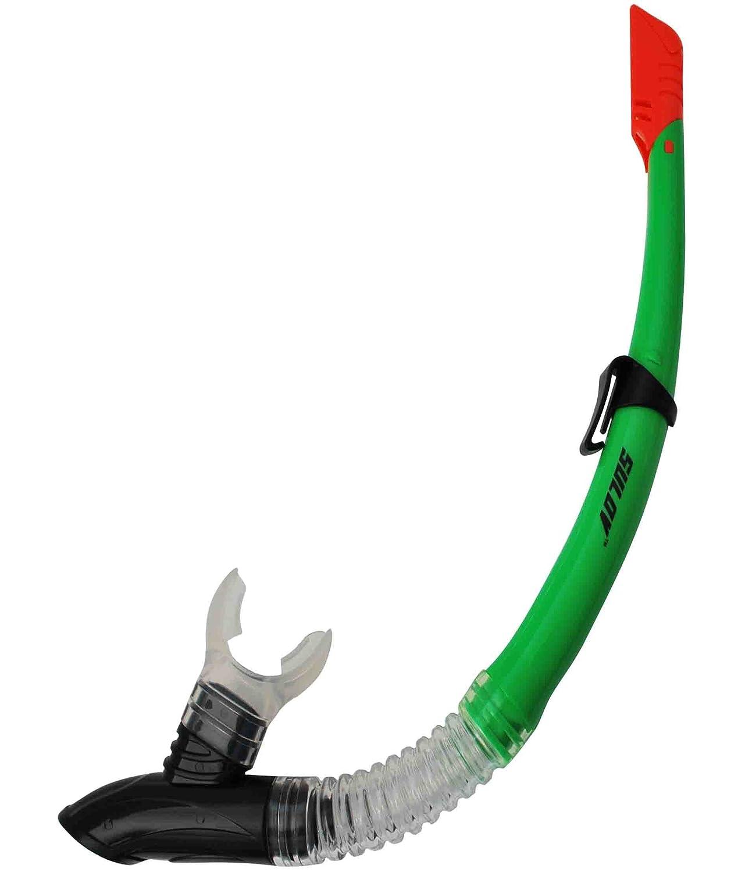 CALTER Boccaglio Adulto 63 PVC Silicon, Verde, SN-63PS-3 Snorkel CALTER ADULT 63PVC SILICON