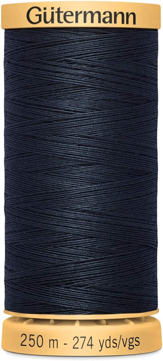 All Colours 100/% Natural Cotton Thread by Gutermann for Sewing and Quilting 250m Spools Colour Number 2724-1 x 250m Spool