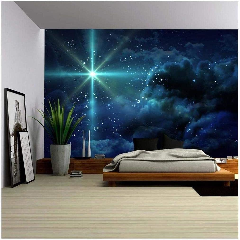 Amazon Com Wall26 The Starry Night Removable Wall Mural