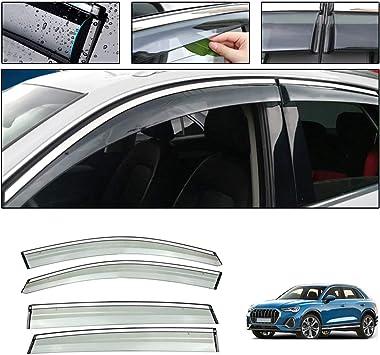3D Window Wind Deflector Visor Rain Sun Guard Vent fits HYUNDAI SANTA FE 2019