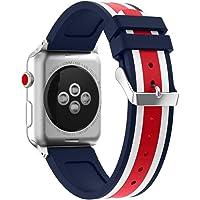 Becoler Reloj Correa Business Sport Leisure Wrist Band para Apple Watch Series 3 38MM