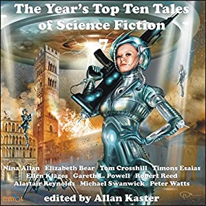 The Year's Top Ten Tales of Science Fiction 7 Audiobook