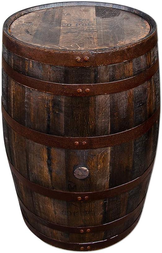 TEMESSO Barril de Whisky de Roble, Barril, DE Usar como Mesa ...