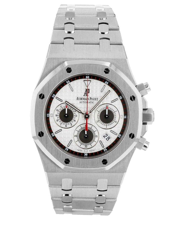 [オーデマ ピゲ] 腕時計 AUDEMARS PIGUET 26300ST.OO.1110ST.06 ロイヤルオーク クロノグラフ シルバー文字盤[中古品] [並行輸入品] B07DQXYTSM