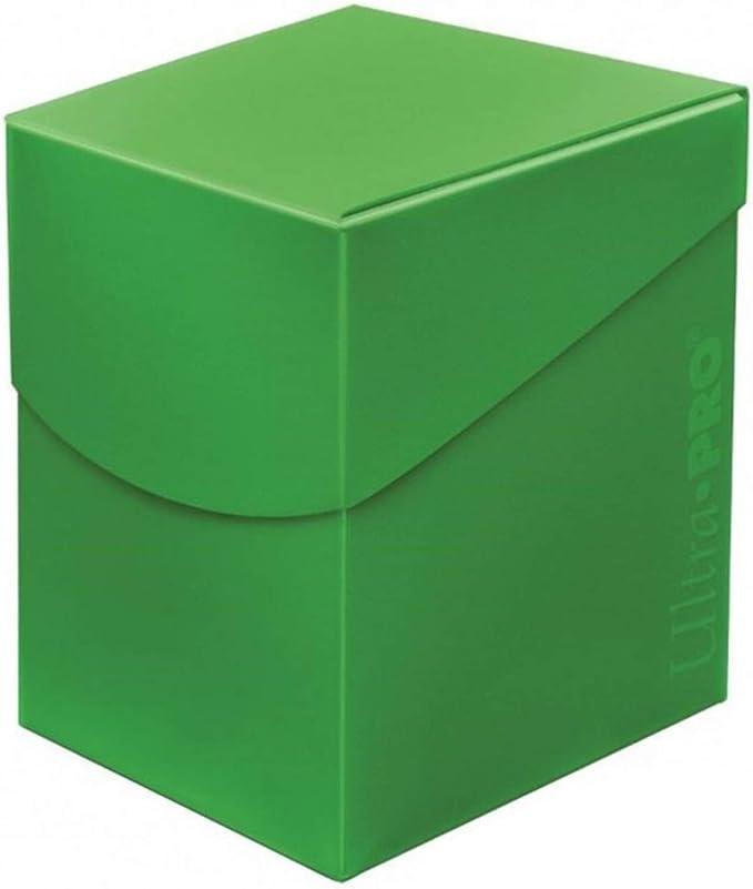 Ultra Pro E-85688 85688 Eclipse Pro 100+ Caja de Cubierta, Verde Lima, Adultos Unisex, Lime Green: Amazon.es: Juguetes y juegos
